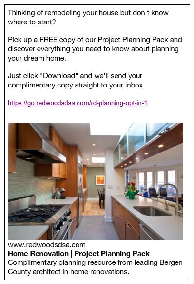 Online Ad Examples Architect Marketing Institute Member