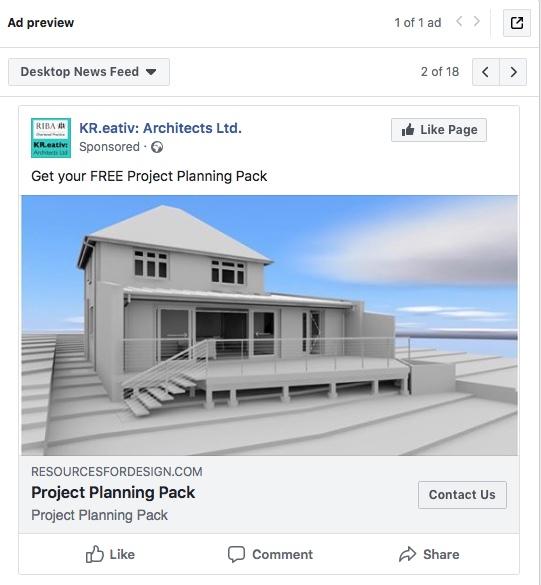 Online Ad Examples - Architect Marketing Institute - Member Training